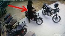 Aksi Pencuri Motor di Jambi Terekam CCTV, Polisi Buru Pelaku