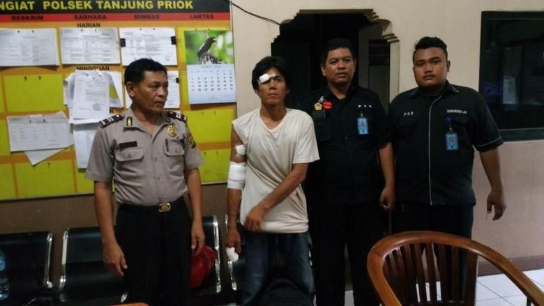 Depresi, Pria di Tanjung Priok Buat Onar di Pernikahan Warga