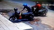 Gara-gara Helm Jatuh, Maling Motor Terbirit-birit Dikejar Korban