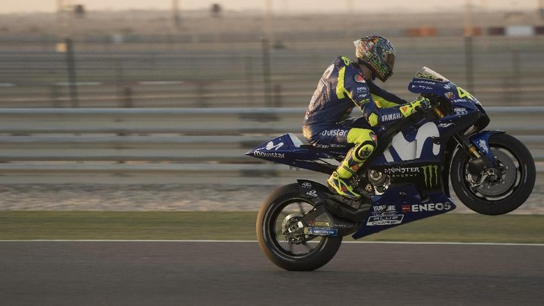Rossi Ungkap Targetnya di Musim 2018