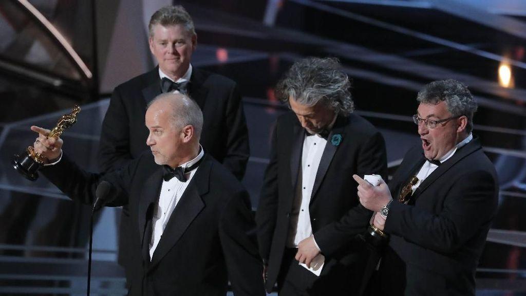 Blade Runner 2049 Menangkan Best Visual Effect di Oscar 2018