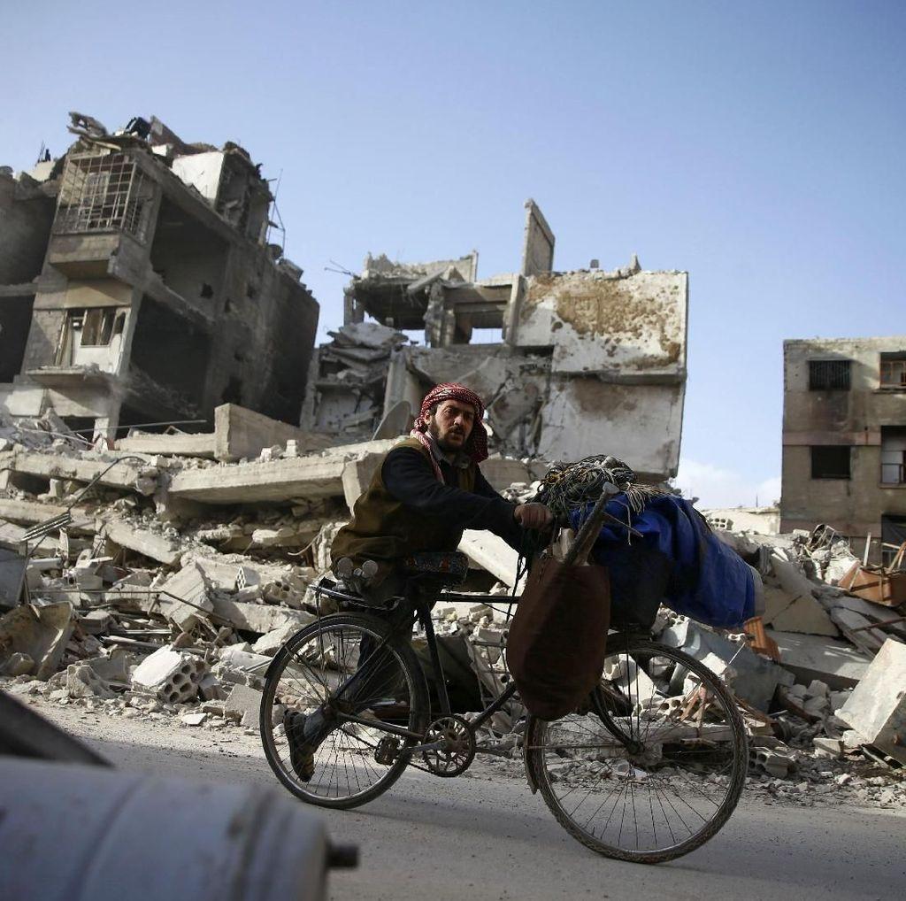 Pasukan Suriah Rebut 90 Persen Ghouta Timur dari Pemberontak