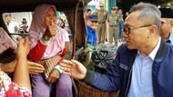 Zulkifli Hasan Dialog dengan Pedagang di Pasar Muara Enim