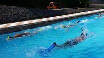 Melihat Latihan Kopda Budi Sebelum Taklukkan Selat Sunda 9,5 Jam