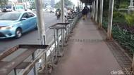 Penataan Jalan Sudirman, Sandiaga: Sebagian Pohon Dipindah-Ditebang