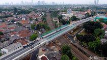 Penampakan Flyover Bintaro Permai Dilihat dari Udara
