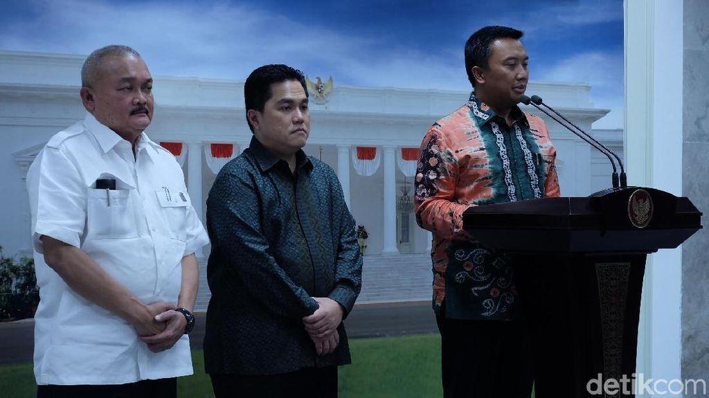 Menteri hingga Gubernur Laporkan Kesiapan Asian Games ke Jokowi