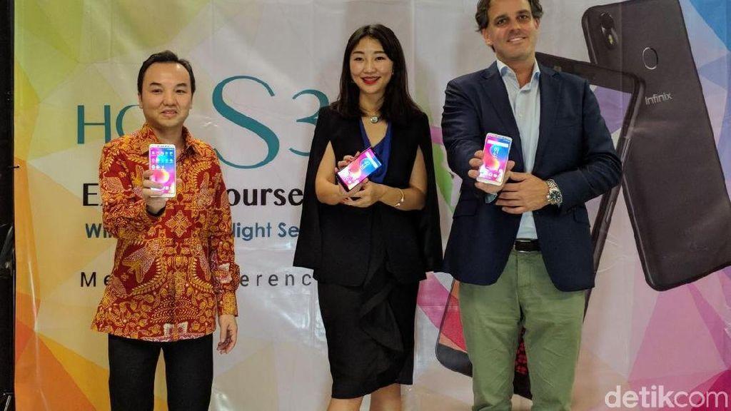 Infinix Hot S3 Unggulkan Selfie dan Layar Kekinian