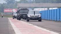 Jokowi dan Ananda Mikola Ngetrek di Sentul Tinjau Persiapan Moto GP