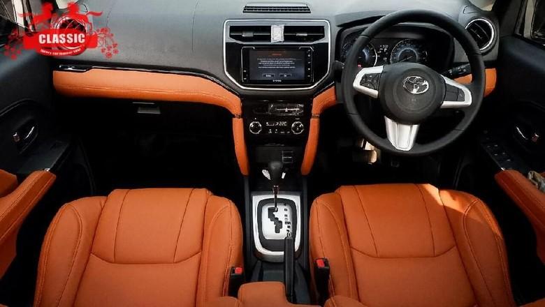Microfiber Buat Interior Toyota Rush Jadi Kinclong