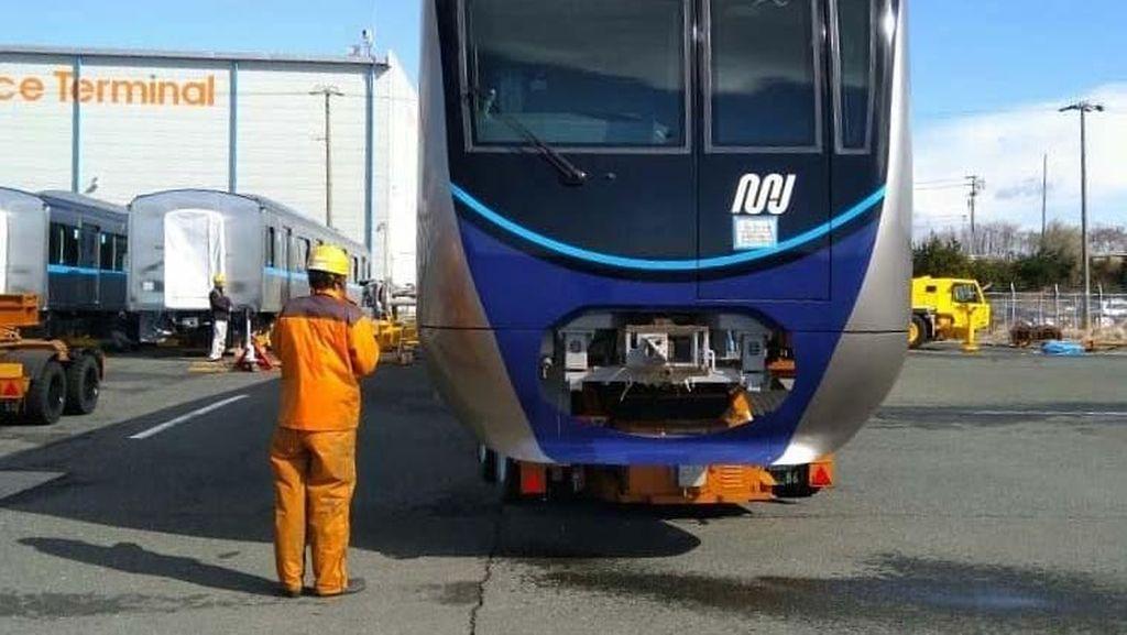 Kereta MRT Jakarta Bakal Tiba di Tanjung Priok Rabu Depan