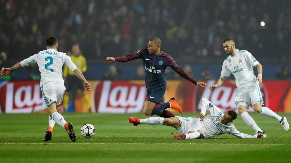 Ketidaktenangan PSG Dihukum Real Madrid