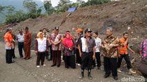 Jalan Provinsi Putus di Banjarnegara Direncanakan Relokasi