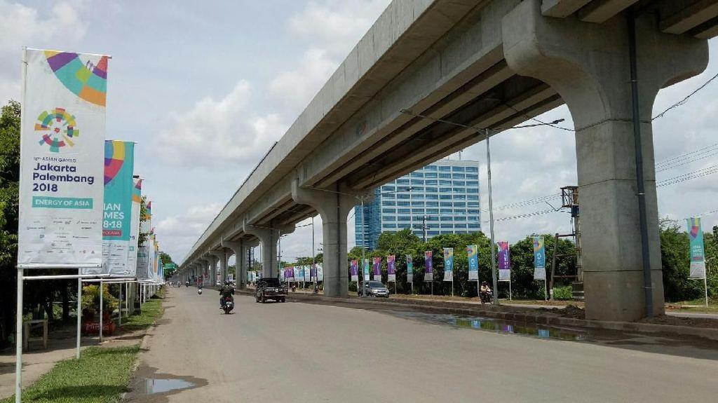 Mau Diuji Coba April, Begini Perkembangan Terkini LRT Palembang