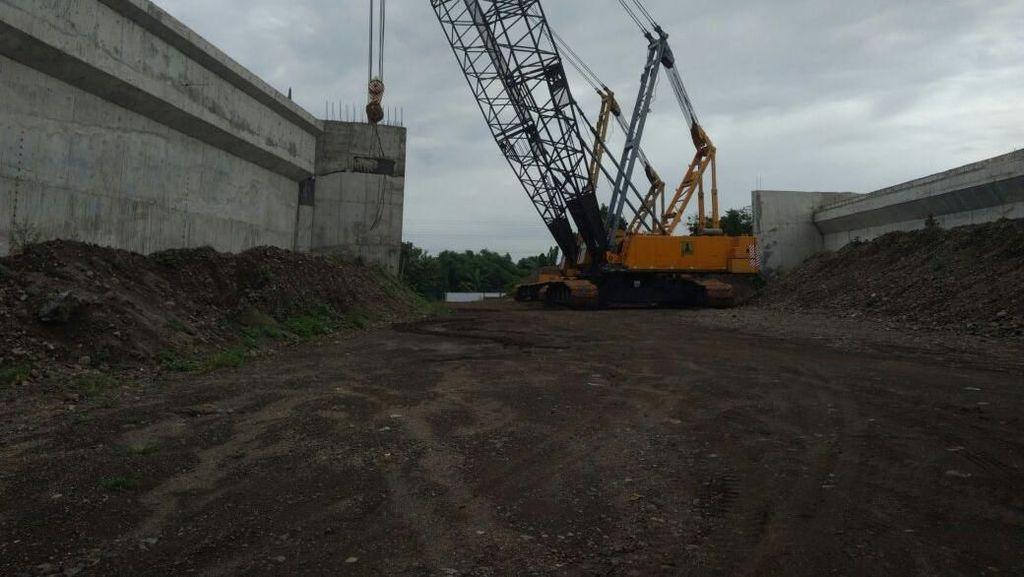 Sempat Ambruk, Begini Progres Terkini Tol Pasuruan-Probolinggo