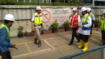 Dampingi Jokowi Tinjau MRT, Anies: Semuanya On Track