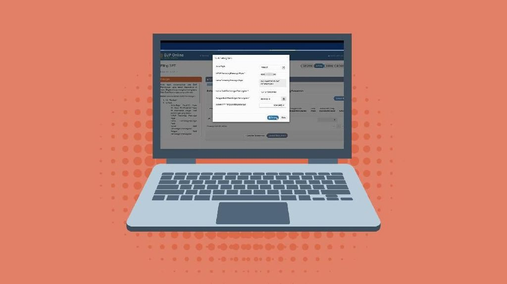 Tutorial Cara Lapor SPT Tahunan Pajak Online