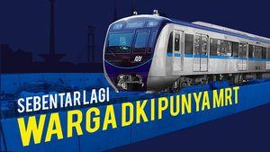 Warga DKI akan Punya MRT