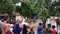 Banjir di Kabupaten Dompu NTB