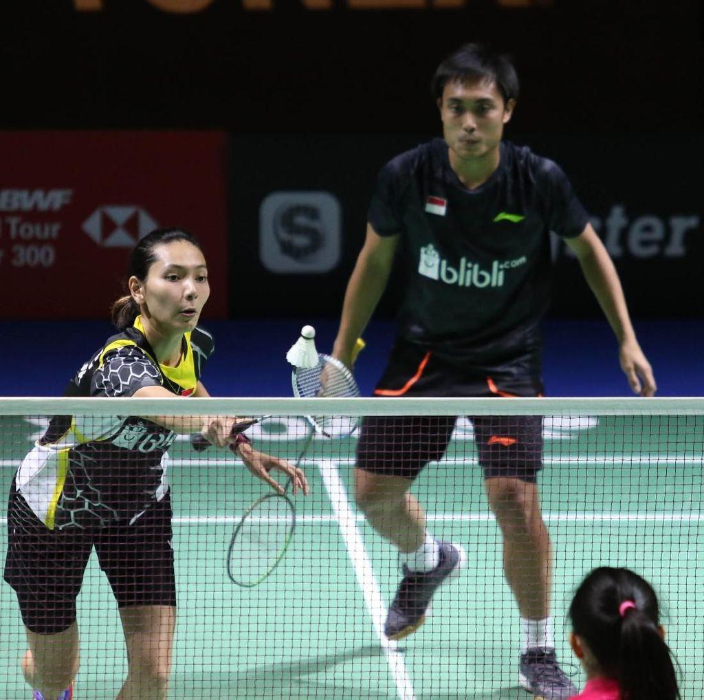 Dikalahkan Zhang Nan/Yinhui, Kejutan Hafiz/Gloria Tak Berlanjut