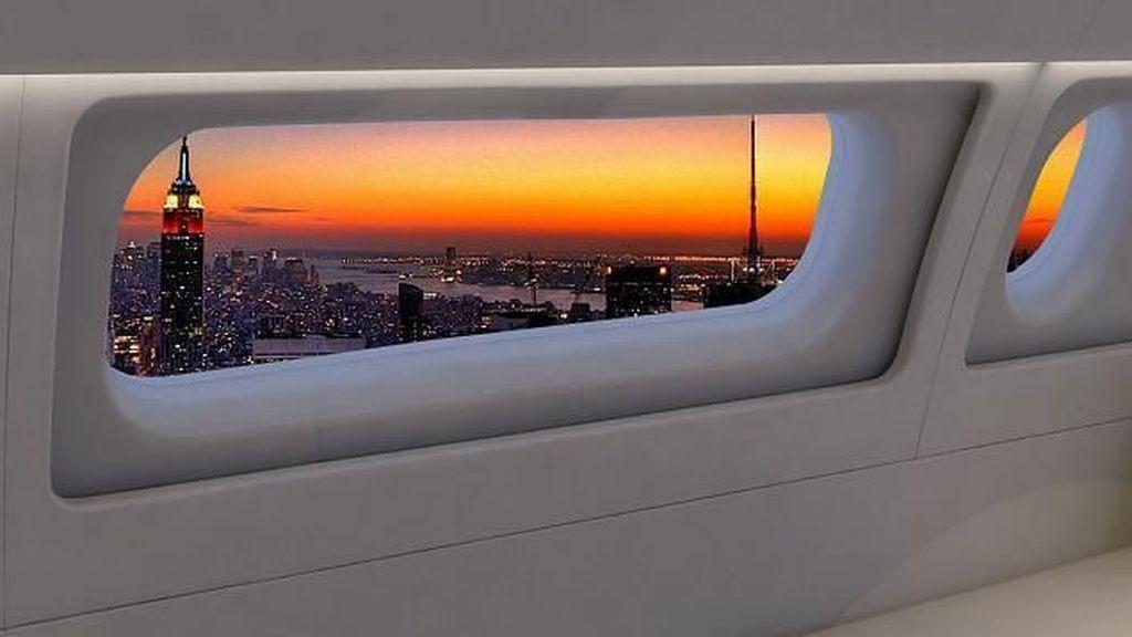 Jendela Super Besar Bakal Hadir di Pesawat Boeing