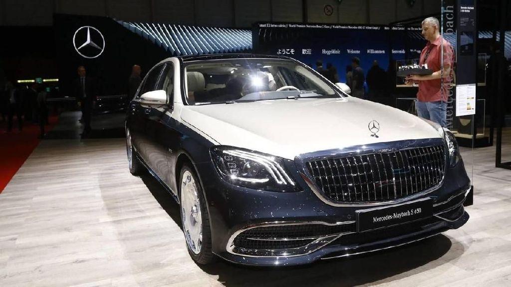 Mobil Mewah dan Bertenaga dari Mercedes-Benz