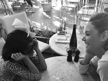 Serunya ketika Suri quality time-an sama sang bunda. (Foto: Instagram/ @katieholmes212)