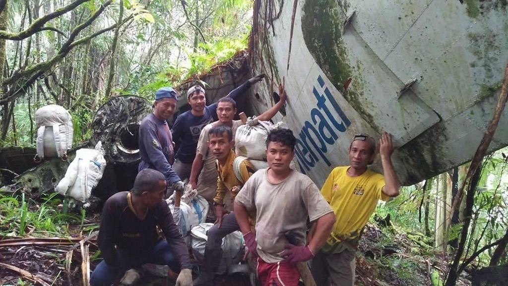 Warga Gorontalo Temukan Bangkai Pesawat yang Jatuh 27 Tahun Lalu