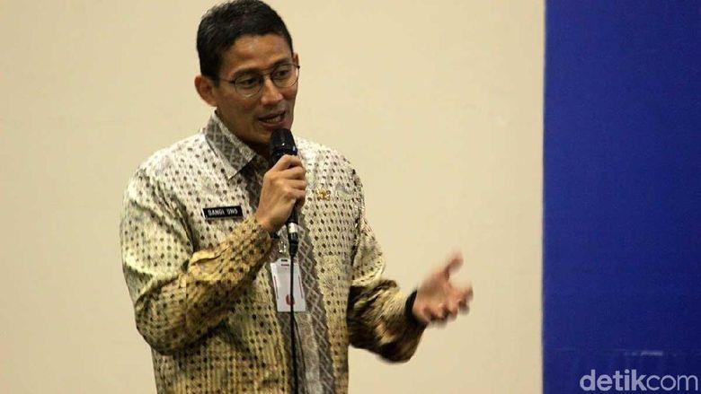 Sandi Pantau Harga Cabai dan Bawang Putih di DKI