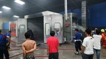 Oven Dico Bengkel Mobil di Makassar Terbakar