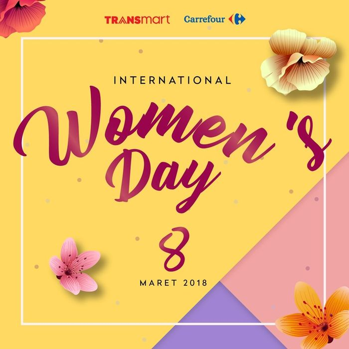 Foto: Hari Perempuan Internasional (Dok. Transmart Carrefour)