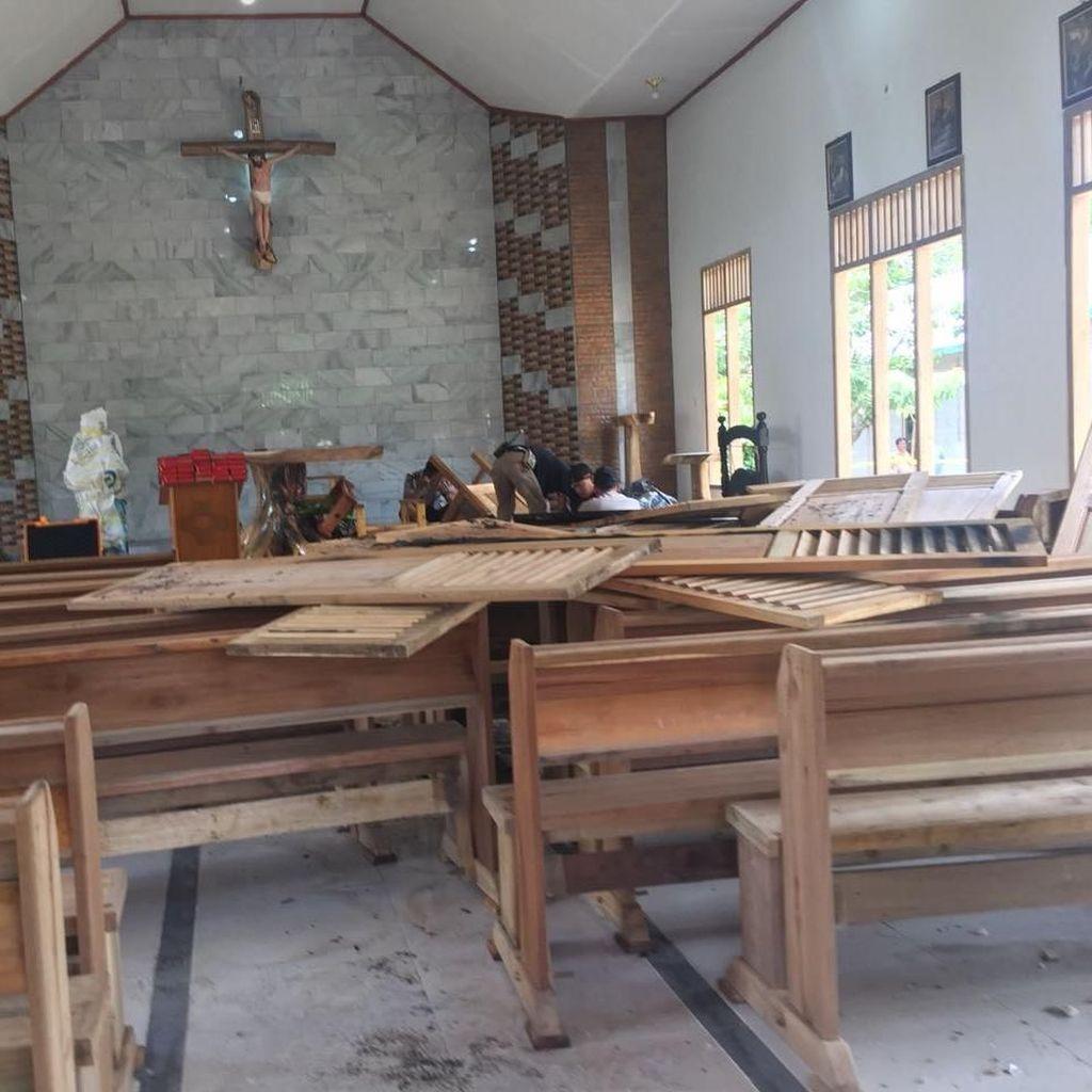 Menelusuri Jejak Perusakan Gereja di Sumsel
