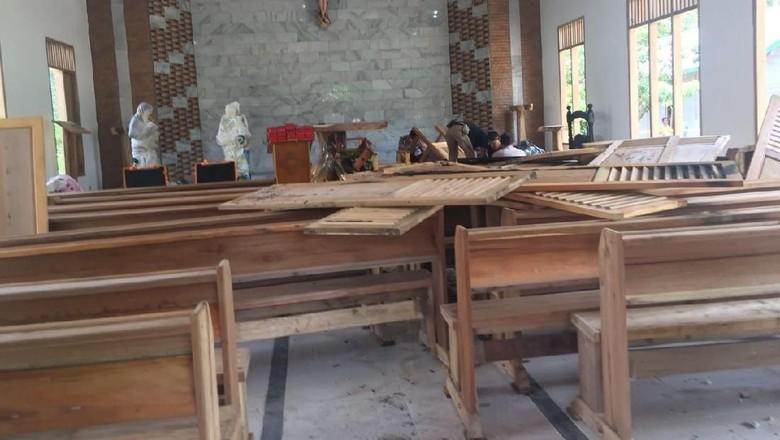 Gubernur Pastikan Perusakan Gereja di Sumsel Tindakan Kriminal