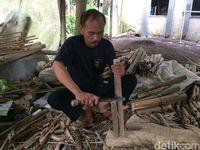 Kiprah Alimudin Rintis Kampung Angklung di Ciamis