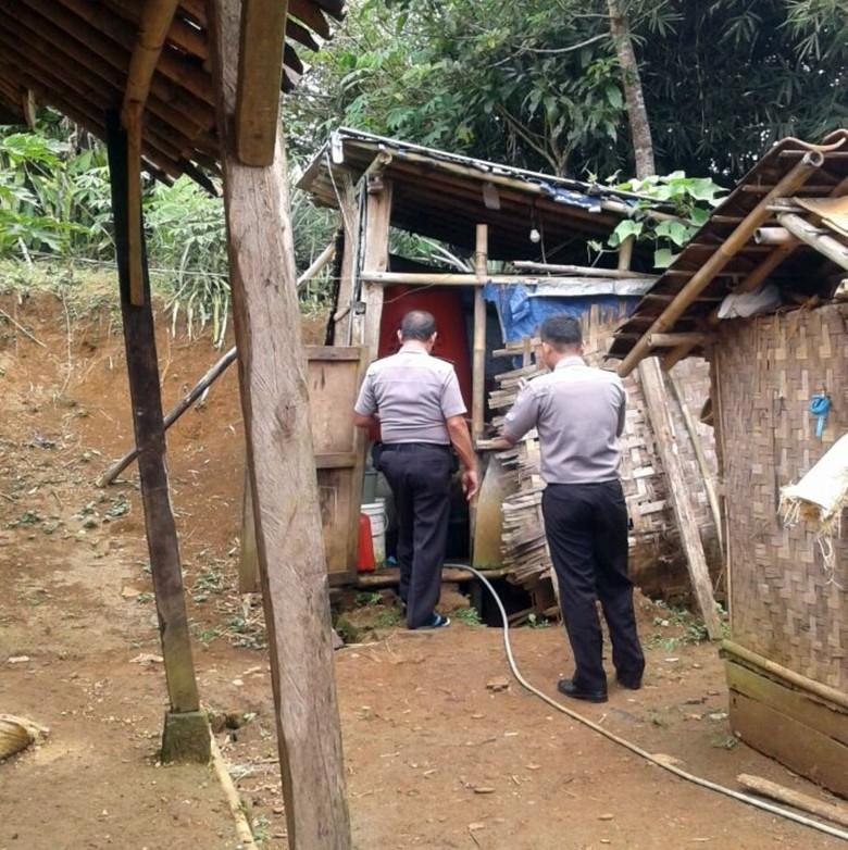 Pelajar Sukabumi Tega Buang Bayinya di Kebun Bambu