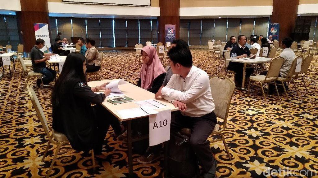 1.120 Pelamar Transmedia Jalani Tes Wawancara