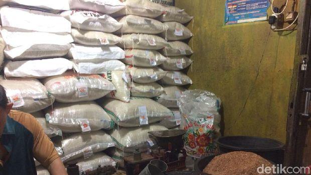 Harga beras masih tinggi