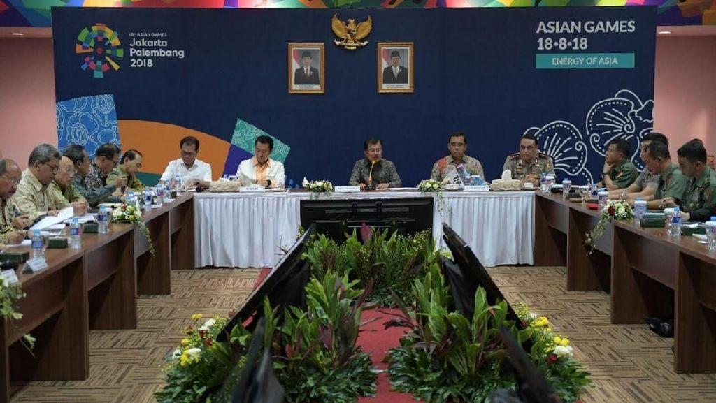 Komentar JK soal Pencoretan Kelas 62 Kg Angkat Besi di Asian Games