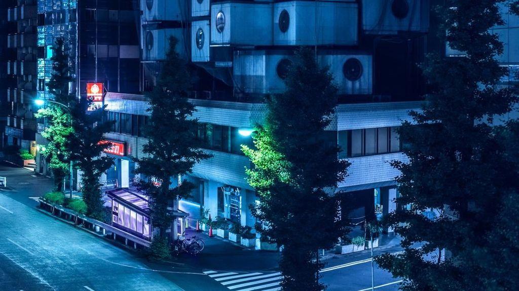 Melihat Sisi Estetika Bangunan di Jepang pada Malam Hari