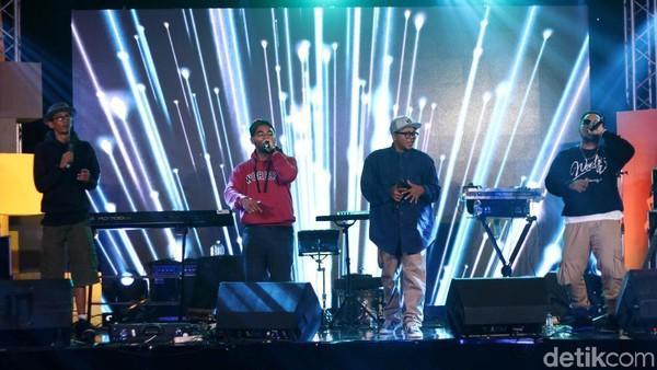 Makin Panas, Fade2Black Ngerap di dHOT Music Day 2018