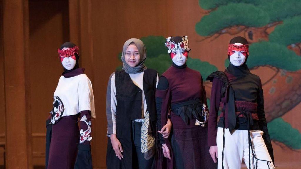 Keren, Siswi SMK Kudus Menang Kontes Fesyen Bergengsi di Jepang
