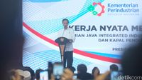 Presiden Jokowi resmikan Java Integrated Industrial and Port Estate (JIIPE)