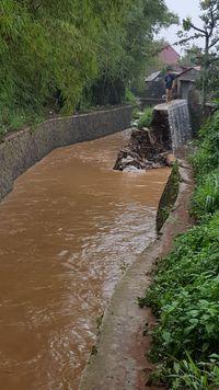 Banjir di Cingised Juga Rendam Rumah Warga