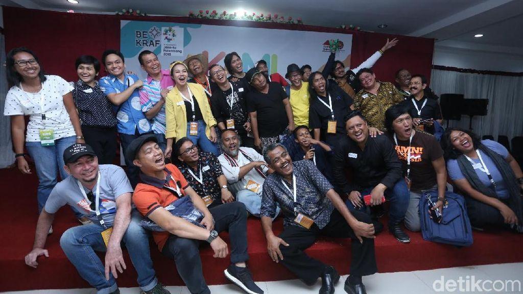 Pesan Candra Darusman yang Ikut Rayakan Hari Musik Nasional di Ambon