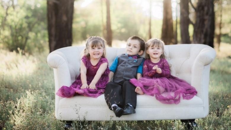 Kisah 3 Bersaudara yang Sama-sama Punya Kelainan Neurologis Langka/ Foto: Go Fund Me