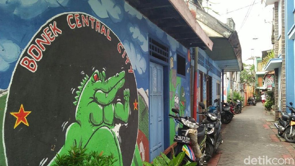 Foto: Keren, Kampung Warna-warni di Tengah Kota Surabaya