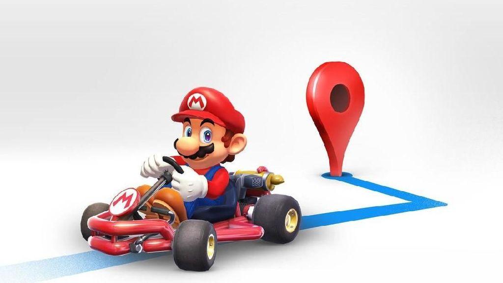 Mario bakal Wara-wiri di Google Maps