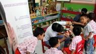 Puluhan Anak TK Kartini Dapat Pemeriksaan Telinga Gratis