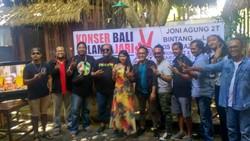 Cagub Bali Rai Mantra Dapat Dukungan Lewat Konser Salam Dua Jari
