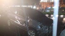 Kecelakaan Tunggal, Mobil Tabrak Pembatas Jalan di Pluit
